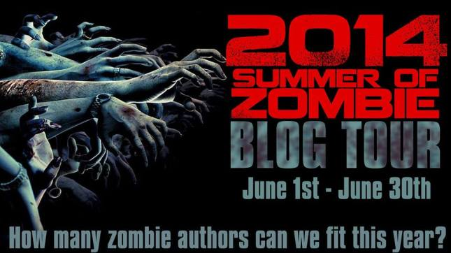 Summer of Zombie Blog Tour 2014